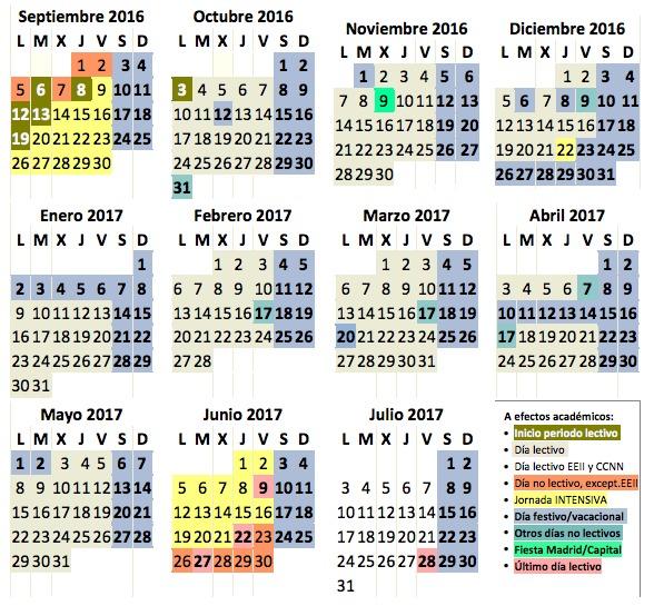 calendario-escolar-comunidad-de-madrid-2017