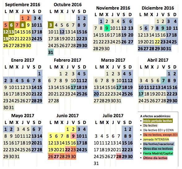 calendario-escolar-comunidad-de-madrid-2017