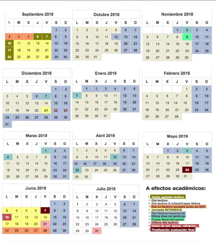 calendario-escolar-2018-2019